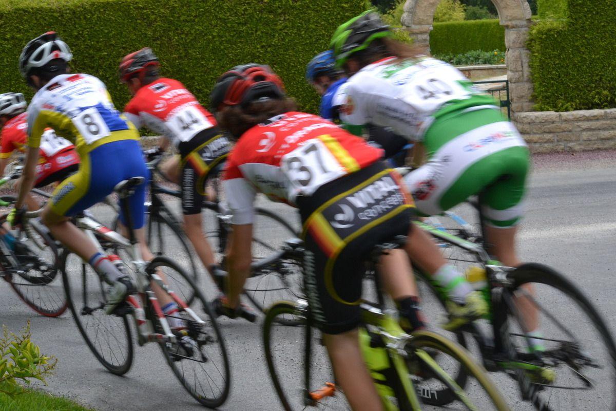 Images de la course minimes.
