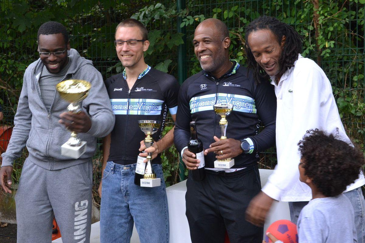 """La """"Grande Vigie"""" remporte le Prix d'équipes en """"3""""."""