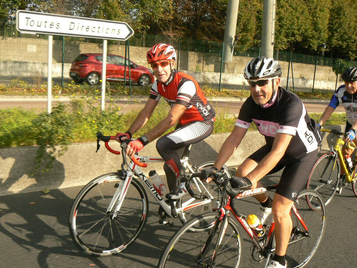 Rungis-MIN à vélo : les fanas des mardis et jeudis: été-automne 2017