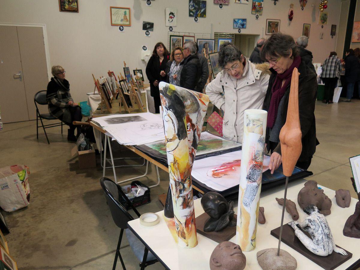 Vide atelier - Braderie d'art - 6 décembre 2015