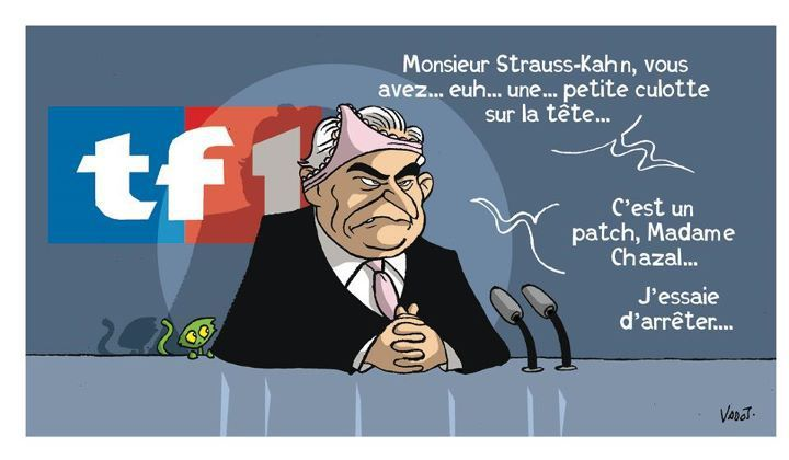 Blague : le patch de DSK.