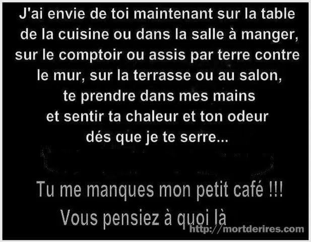 Blague : tu me manques...