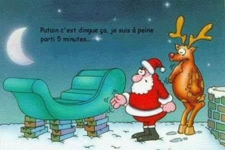 Joyeux Noël gags.