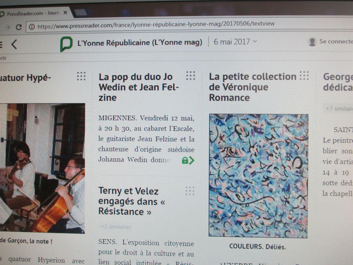 &quot&#x3B;La petite collection&quot&#x3B; de Véronique Romance était à Auxerre