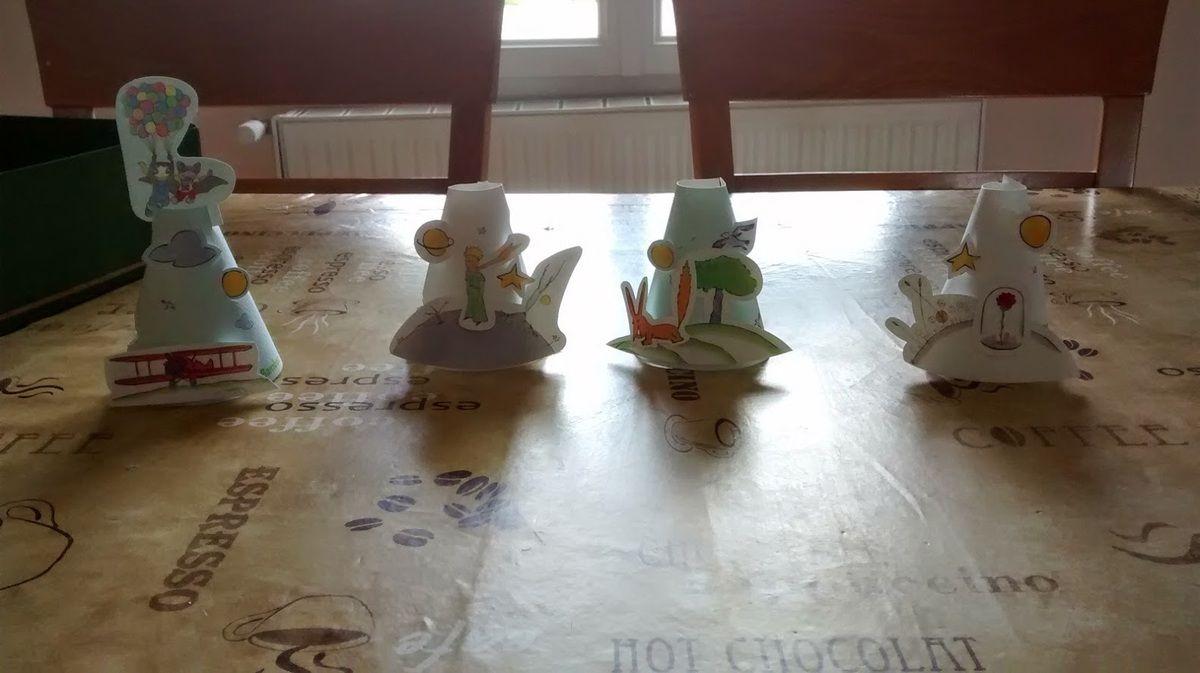 L'univers du Petit Prince de Pandacraft réalisé par Mlle C et Mini J