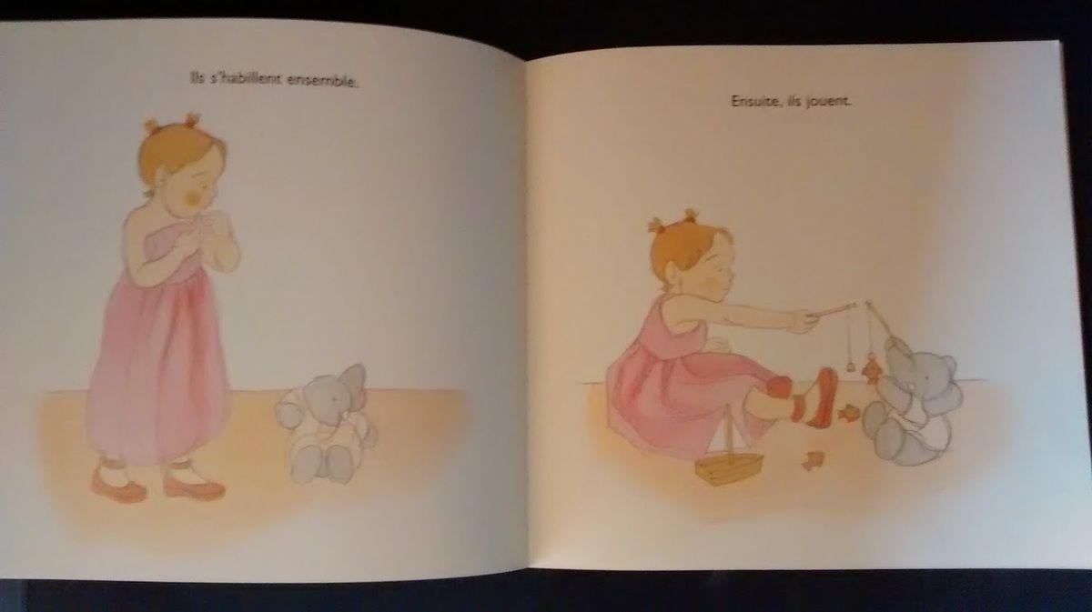 Chut le enfants lisent! Chagrin d'éléphant