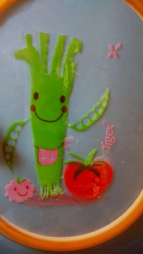 Les Petits Légumes de Tigex assiette