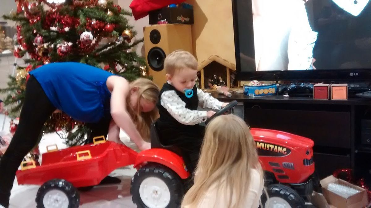 Beau comme un tracteur &#x3B;)
