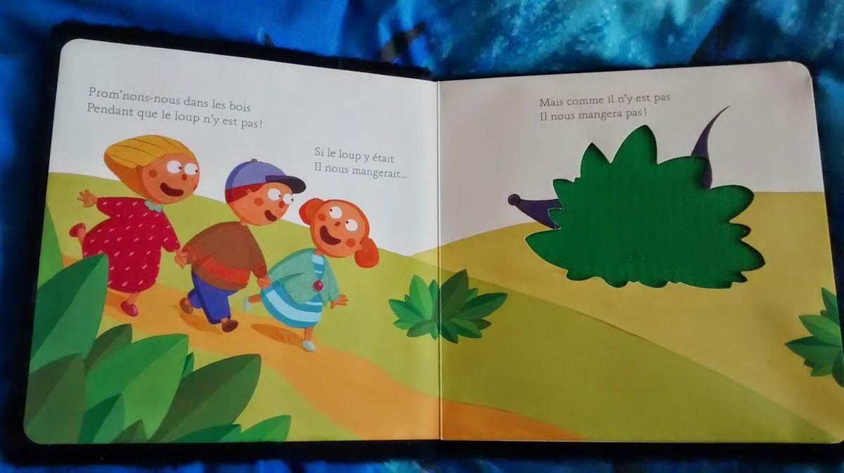 Chut les enfants lisent! Si le loup y était...