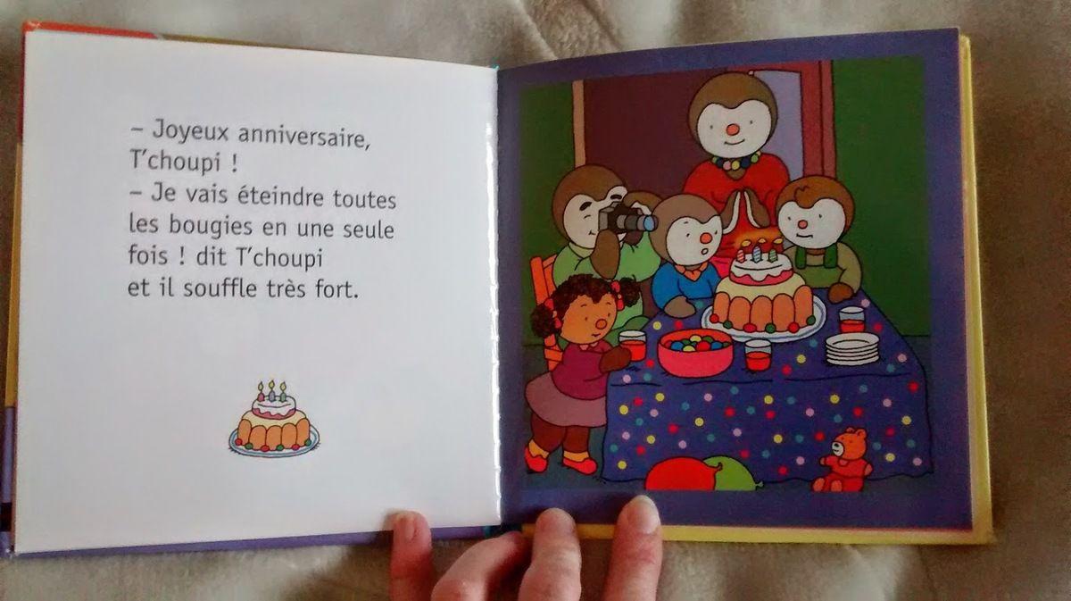 Chut les enfants lisent l 39 anniversaire de t 39 choupi six - Tchoupi l anniversaire de doudou ...