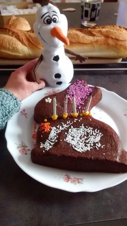 L'anniversaire Reine des Neiges de Mini J