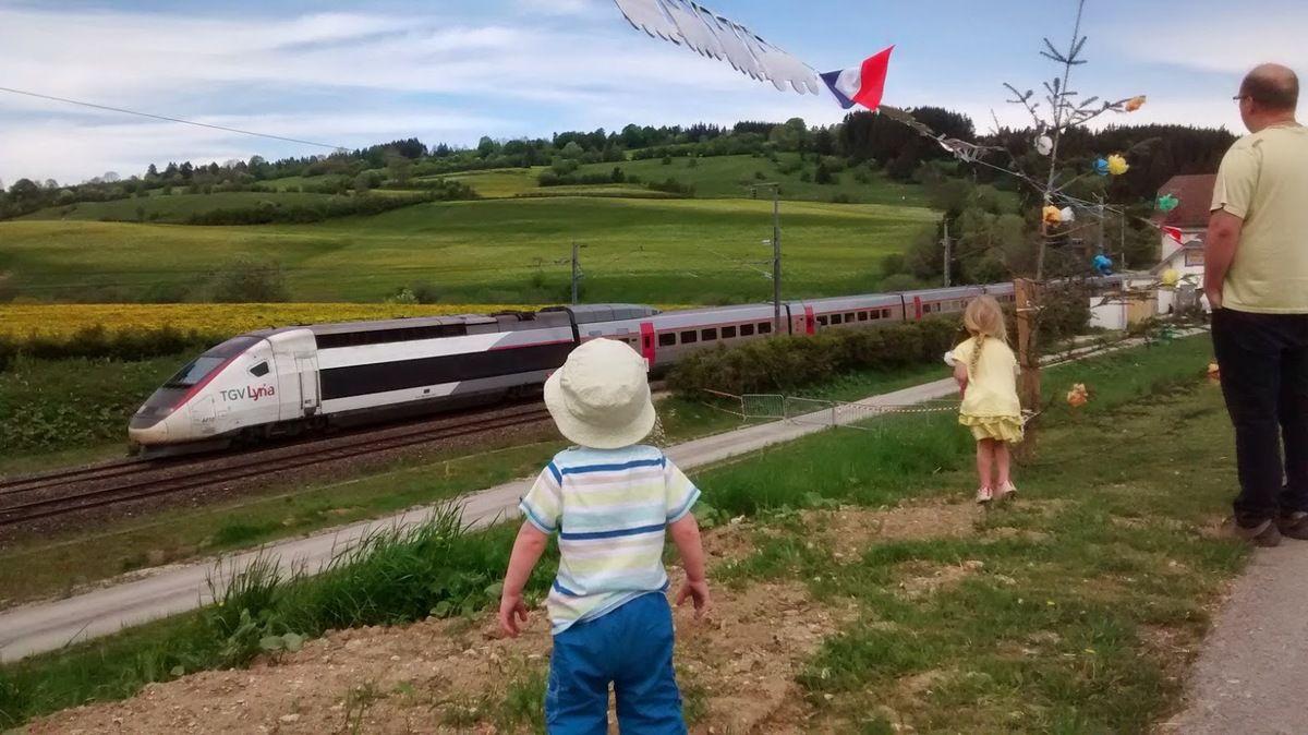 Le centenaire du tunnel du Mont d'Or et les trains