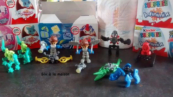 Kinder surprise Infinimix collection garçon