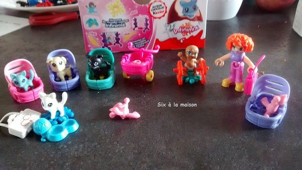 Kinder surprise Infinimix collection fille