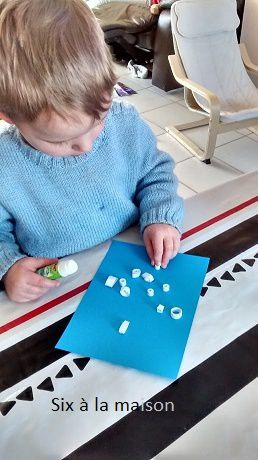 Projet enfant 2016 - Hiver : DIY Flocons de neige