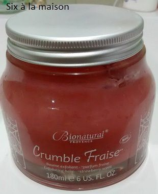 Phty's Crumble Fraise