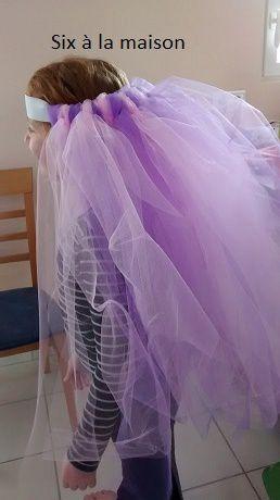 DIY jupe de princesse, tutu carnaval,  traîne mariée