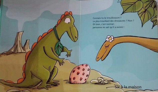 Le Trouillosaure