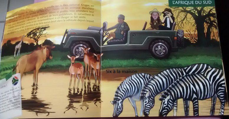 Le tour du monde de.... Livre personnalisé pour enfant de chez Unique Editions