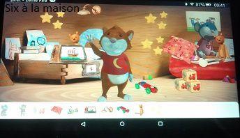 KidzInMind application pour enfants Tip la souris