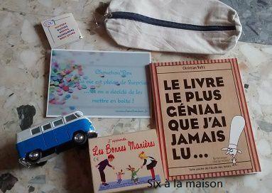 Chouchou Box, une box pleine de surprises pour les enfants contenu