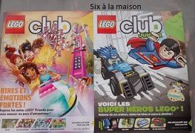 Magazines Lego Friends et Lego Junior
