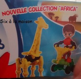 Kinder Infinimix collection Africa