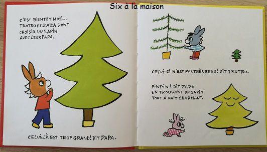 L'âneTrotro et Zaza fêtent Noël par Bénédicte Guettier.