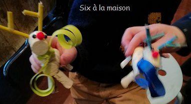 Renne Petites décorations de Noël à réaliser avec les enfants
