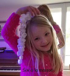 Guirlande - Petites décorations de Noël à réaliser avec les enfants