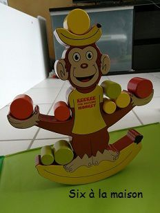Keekee, the rocking Monckey - Un singe jongleur et équilibriste