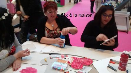 Efluent 5 Atelier suspension de coeur DIY