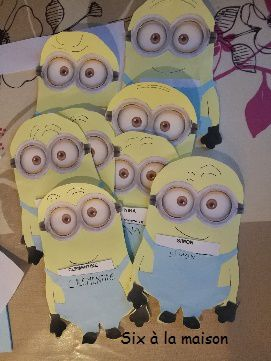 invitation anniversaire Minion