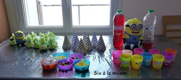 decoration anniversaire Minion