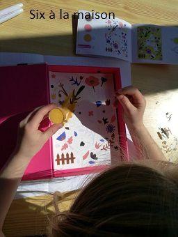 Tableaux en sables colorés avec Djeco