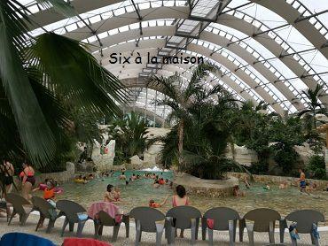 Center Parcs Bois aux daims aqua mundo piscine à vague