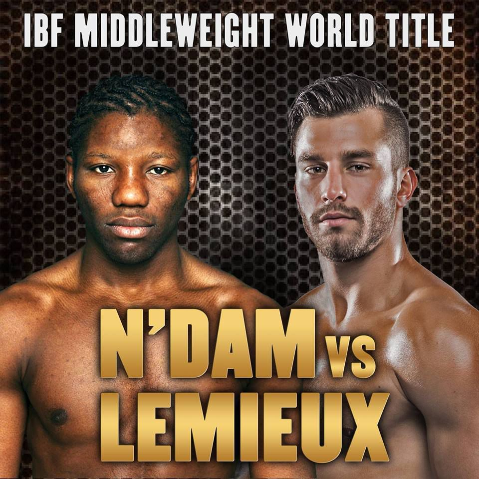 (VIDEO) : Simulation du combat David Lemieux VS Hassan N'Dam N'Jikam