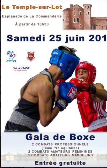 Gala au Temple-sur-Lot, samedi