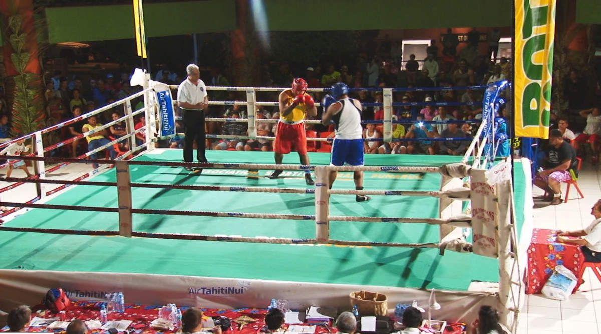 Punaauia fête la boxe