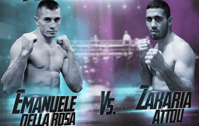 Combat de Zakaria Attou pour le titre de champion de boxe européen