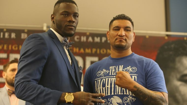 Deontay Wilder et Chris Arreola (Source d'image:Getty)