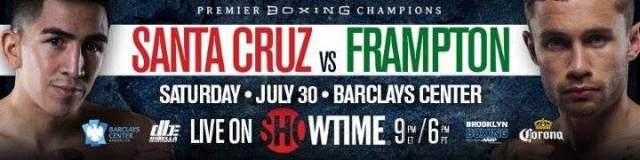 (lien streaming) :Leo Santa Cruz Vs Carl Frampton devant l'ordi