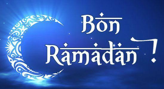 Bon Ramadan à toutes et tous !