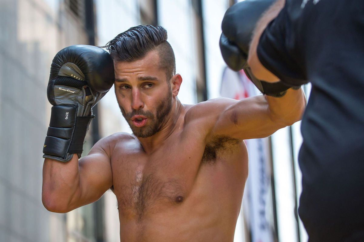 David Lemieux s'approche de Miguel Cotto