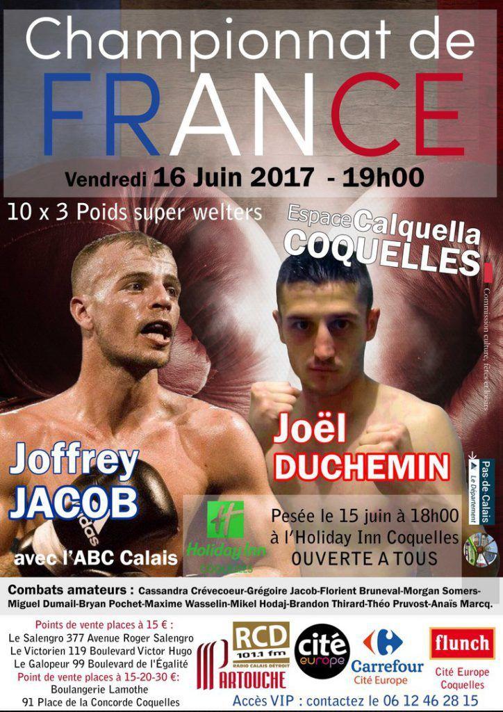 Joffrey Jacob remet son titre de champion de France de boxe en jeu