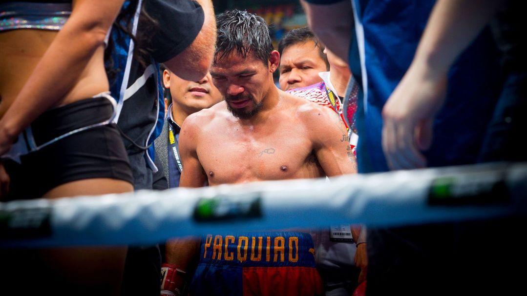 Manny Pacquiao, le début de la fin d'un grand champion