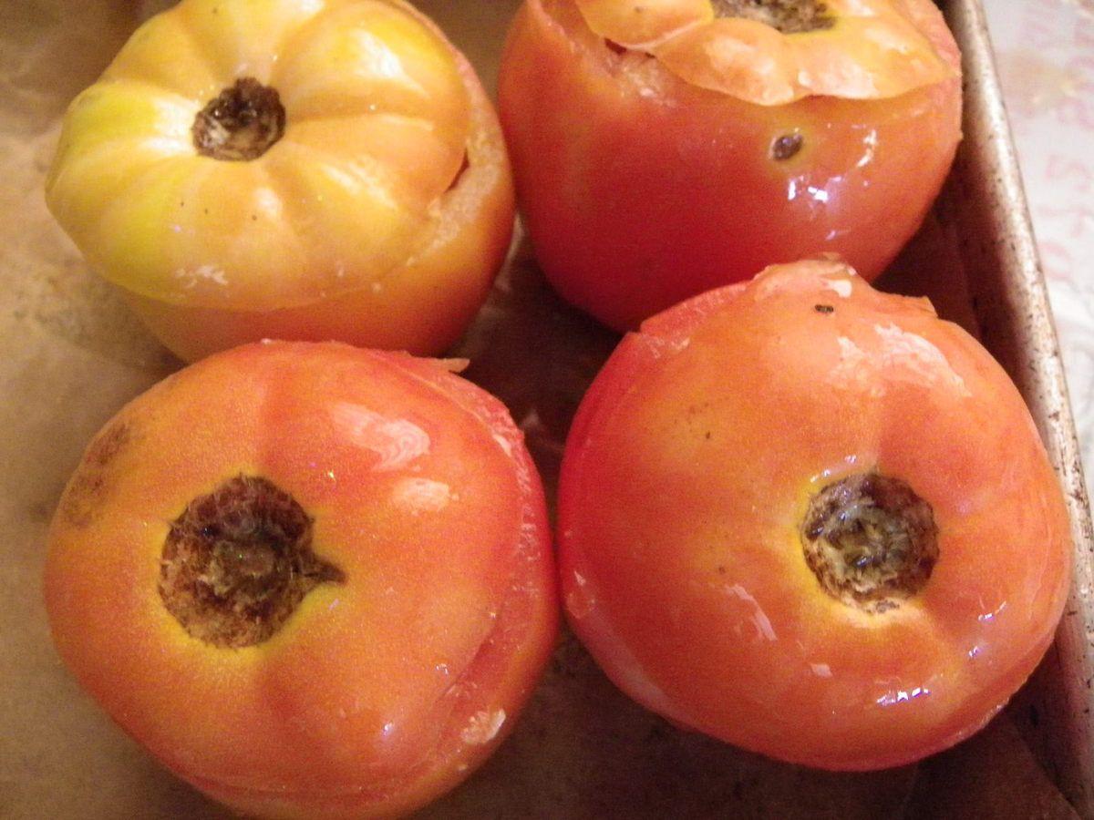 tomate farcie à la langouste