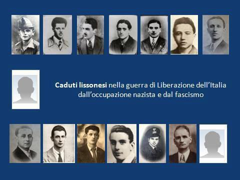 caduti lissonesi nella guerra di Liberazione dal nazifascismo