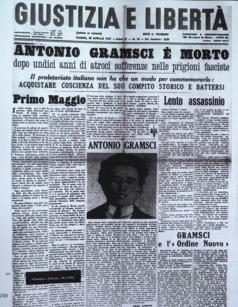 La morte di Antonio Gramsci