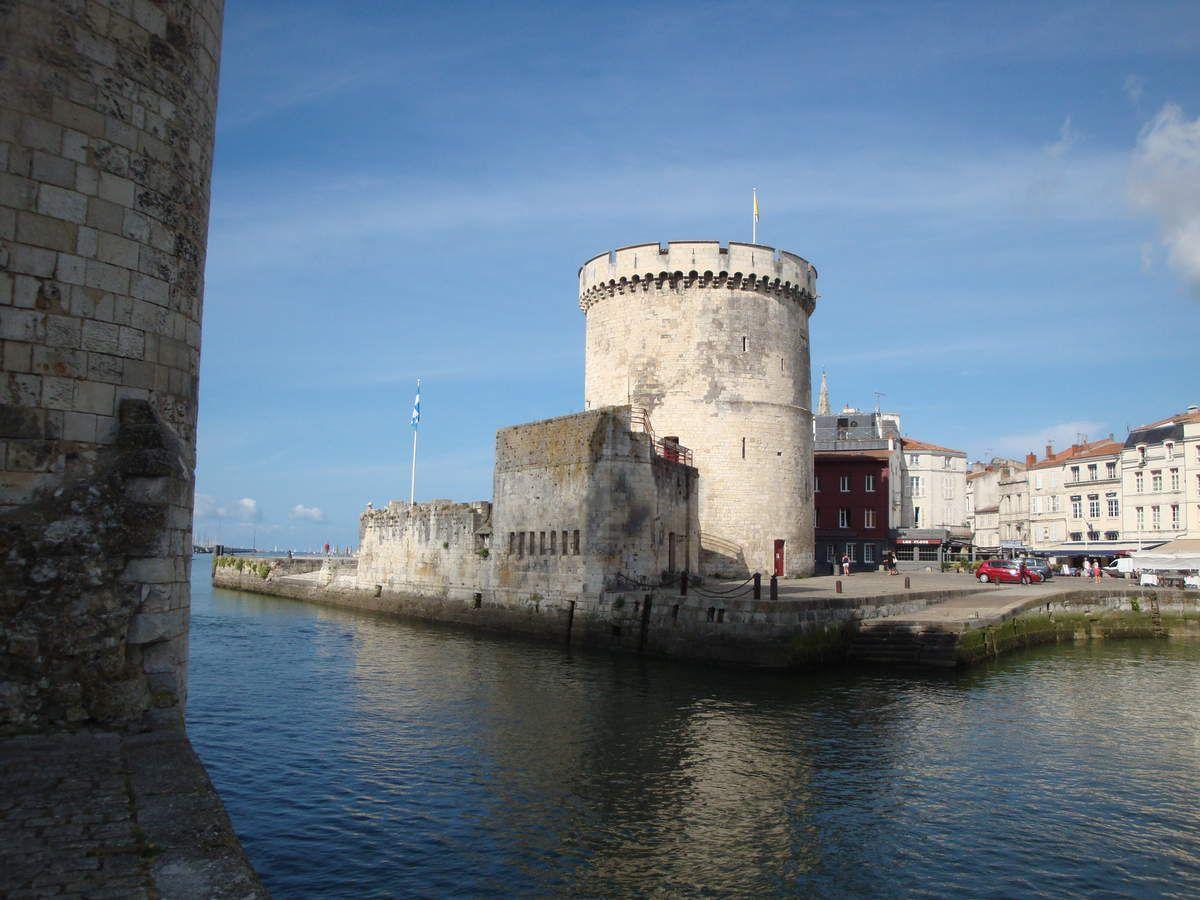 le port de la Rochelle, la vieille ville.
